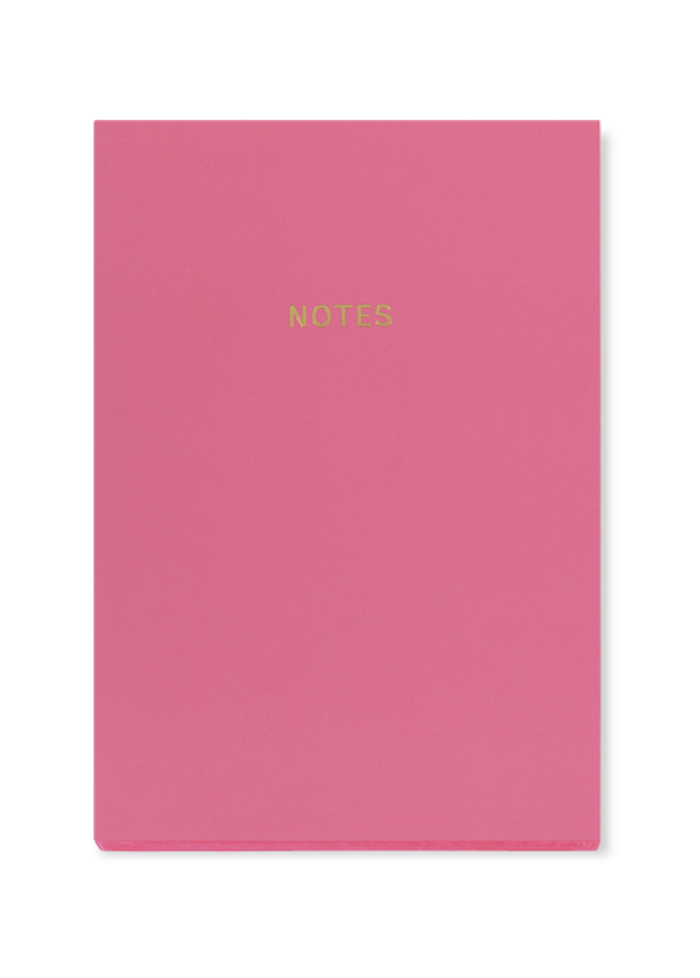 Cahier de notes A5 colourblock : rose