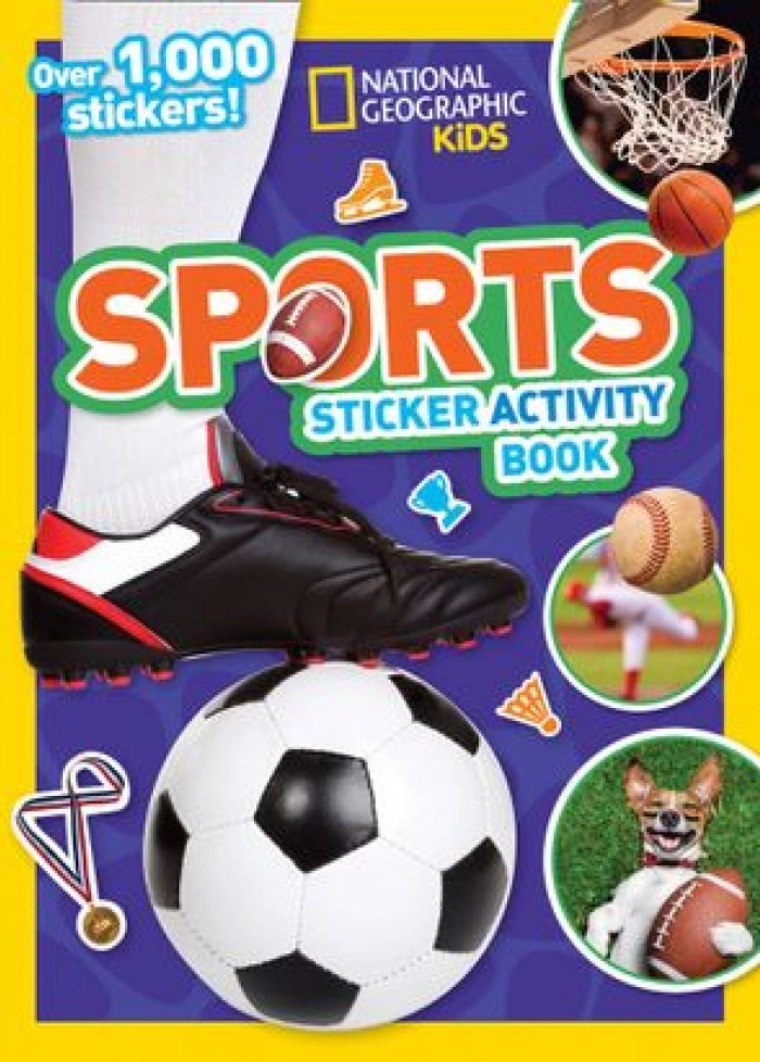 Sports : sticker activity book